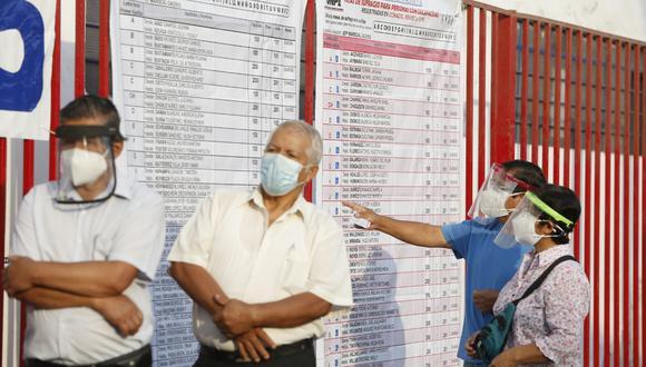 La ONPE confirmó el nuevo horario para adultos mayores en la segunda vuelta electoral (GEC).