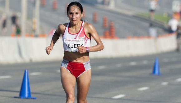 Gladys Tejeda fue suspendida por 6 meses por doping en Juegos Panamericanos 2015. (USI)