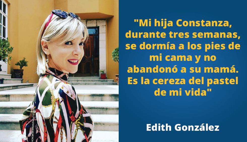 Edith Gonzáles y su lucha contra el cáncer.