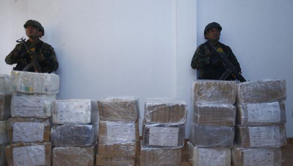 Más del 40% de la droga que sale del Vraem tiene como primer destino el Callao. (LuisCenturión/Perú21)