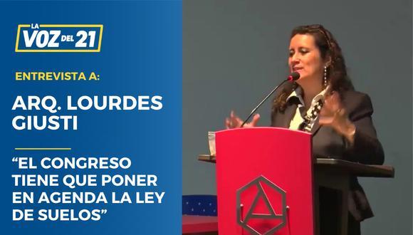 Arq. Lourdes Giusti