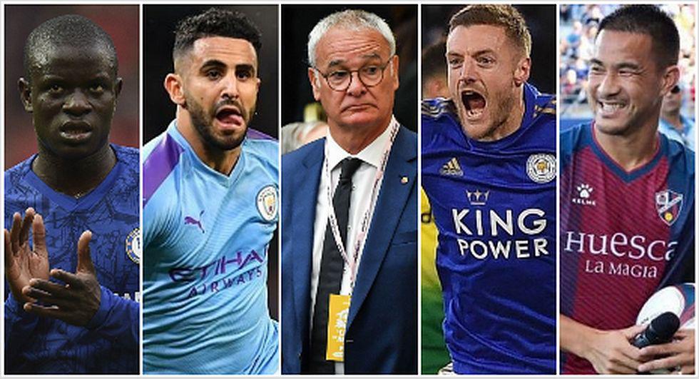 El presente de los campeones del Leicester City en la Premier League. (Foto: AFP)