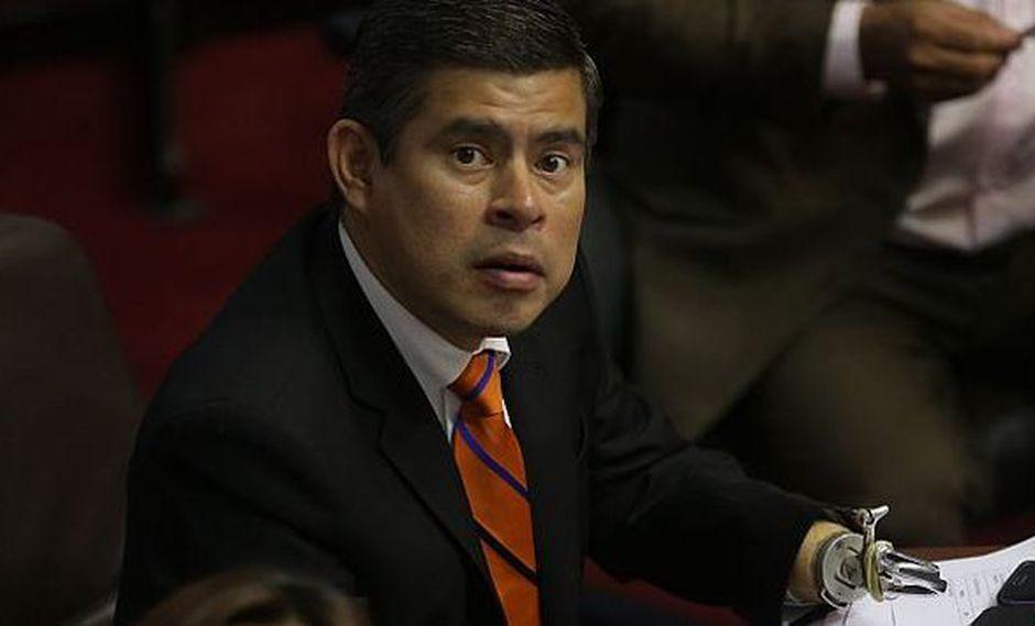 Luis Galarreta se presentó tras la censura a Jaime Saavedra. (Anthony Niño de Guzmán)