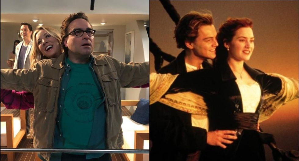 """Los actores de """"The Big Bang Theory"""" se divierten en medio del rodaje de la última temporada de la serie. (Foto: Composición)"""