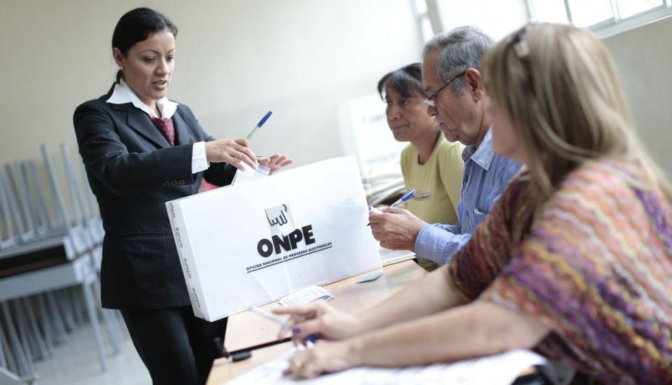 Existen 24 millones 812 mil 087 peruanos habilitados para este proceso electoral. (USI)
