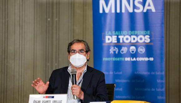 El ministro Ugarte defendió la designación de Carbone como titular de la comisión que investiga el caso Vacunagate. (Foto: PCM)