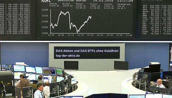Hoy el índice DAX 30 de Frankfurt avanzó 1.70% hasta 11,954.40 puntos. (Foto: Reuters)