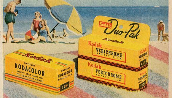 Kodak, publicidad de 1954. (Foto: Flickr/Insomnia Cured Here)