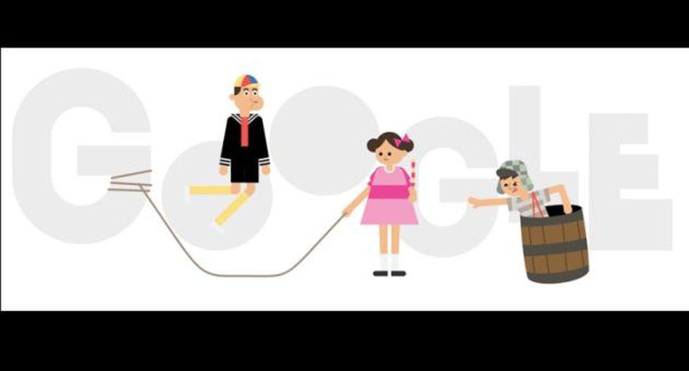 """Google conmemora la primera transmisión de """"El Chavo del Ocho"""". (Captura)"""