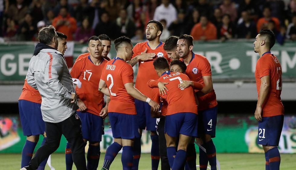 Chile y Honduras jugaron en partido amistoso internacional FIFA. (Reuters)