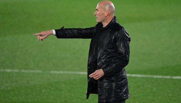 Pese a la cantidad de bajas que lo dejaron prácticamente sin titulares en el Coliseum Alfonso Pérez, el técnico madridista no dejó una palabra de queja. (Foto: AFP)