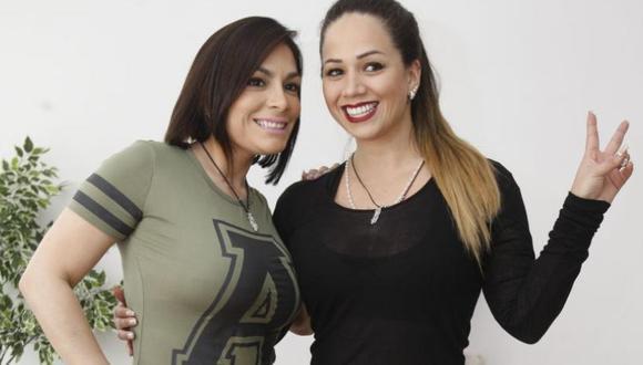 Evelyn Vela y Melissa Klug (USI)