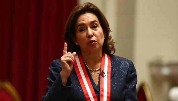 Elvia Barrios Alvarado exhortó a los jueces a trabajar con autonomía e independencia. (Foto: El Comercio)
