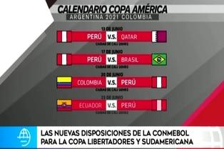 Copa América 2021: Conmebol realiza modificaciones a fixture del torneo