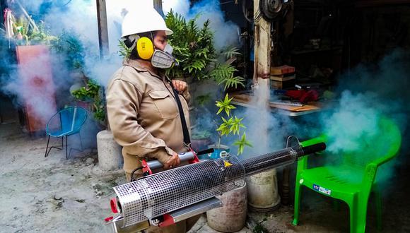 Amazonas: la Diresa detalló que ejecuta su plan para control y prevención del dengue en las provincias de Utcubamba, Bagua y Condorcanqui. (Foto: Difusión)