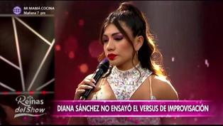 """""""Reinas del show 2″: Diana Sánchez pide en vivo retirarse de la competencia"""