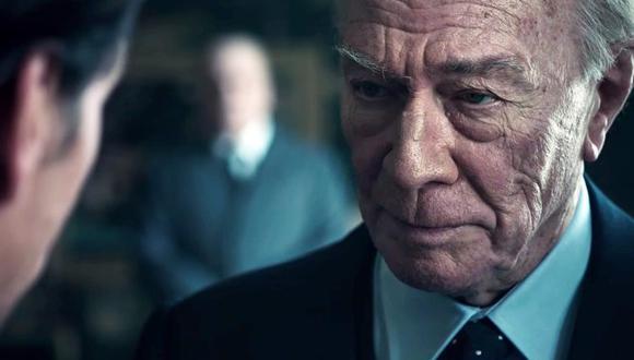 Christopher Plummer reemplaza a Kevin Spacey en la película 'All the Money in the World' de Ridley Scott. (Difusión)
