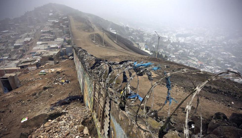 Los vecinos de Pamplona Alta, en San Juan de Miraflores, ya no miran hacia el otro lado. (Anthony Niño de Guzmán)