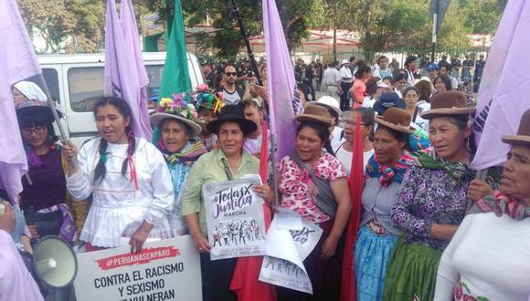 'Todas por Justicia' es el lema de la masiva movilización en la capital y también en provincias. (Foto: Álvaro Treneman)