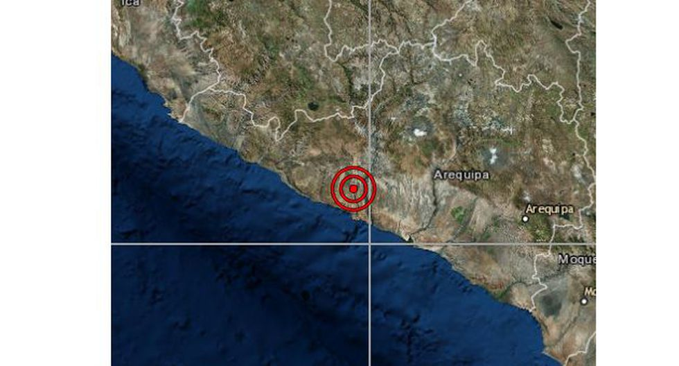 Un sismo de magnitud 4,2 se registró en Arequipa la noche de este miércoles a las 22:03 horas. (Foto: IGP)