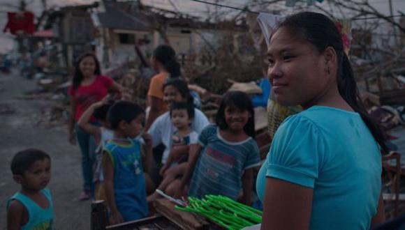 más de 500,000 hogares quedaron completamente destruidos por tifón Haiyan. (AFP)