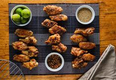 Alitas de pollo maceradas por delivery