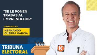 """Hernando Guerra García: """"Se le ponen trabas al emprendedor"""""""