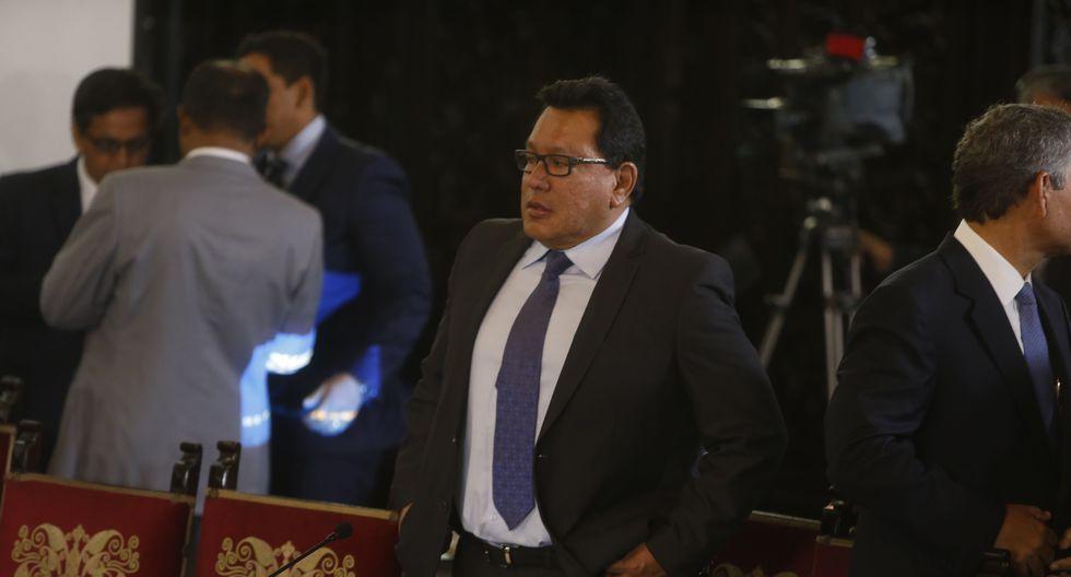 Lo niega. Félix Moreno rechaza las imputaciones fiscales. (GEC)