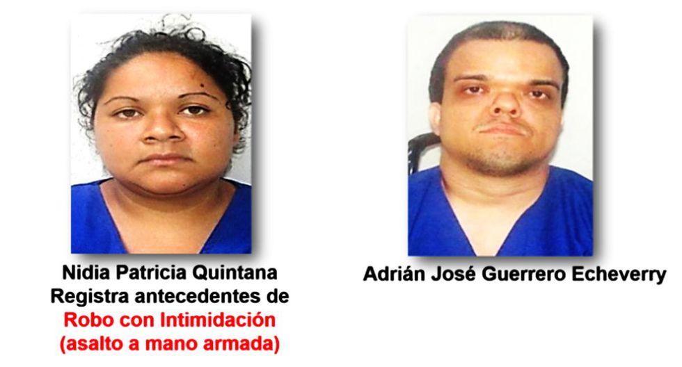 Adrián José Guerrero Echeverri, de 38 años y quien padece de transtorno óseo, conocido popularmente como enanismo, junto a su pareja Nimia Patricia Quintana (26).  (Policía de Managua)