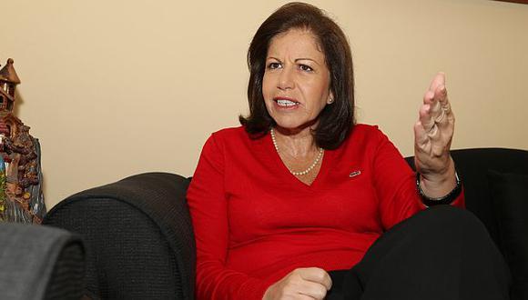 Lourdes Flores Nano se suma a las críticas a Ollanta Humala. (USI)
