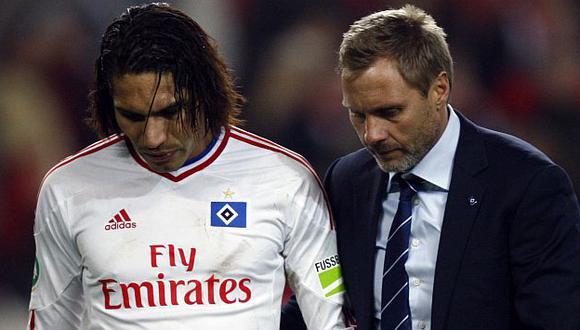 El delantero de Hamburgo dijo que esto no mellará su carrera. (USI)
