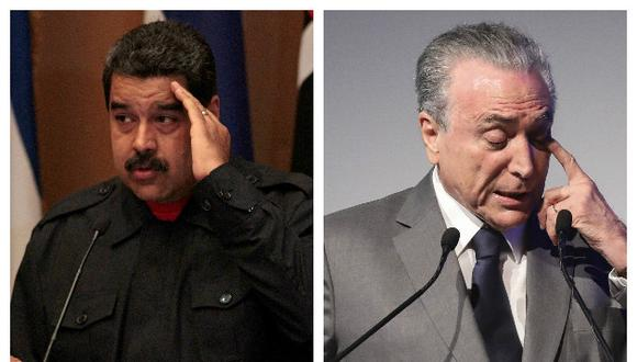 Maduro no aceptó la ayuda humanitaria que ofreció el presidente brasileño Michel Temer (Reuter/Efe).