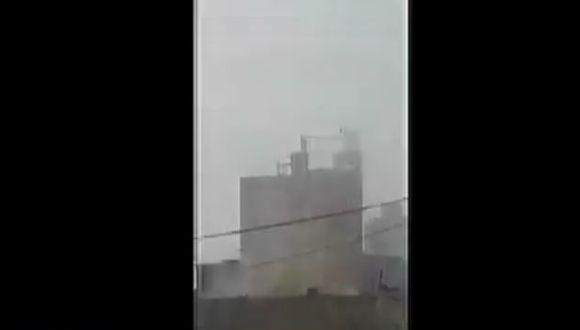 Incendio en La Victoria.