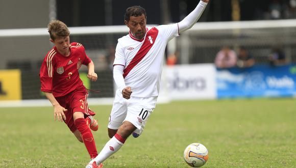 Palacios actualmente trabaja en las divisiones menores de Sporting Cristal. (USI)