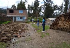 Áncash: Cercos de ladrillos de un colegio quedó derrumbado por las intensas lluvias