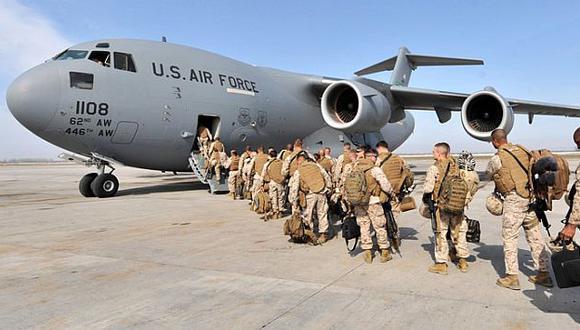 EEUU envía 275 soldados a Irak para proteger su embajada en Bagdad. (AFP)