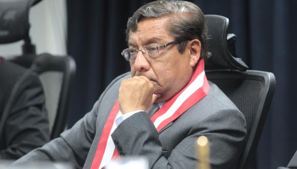 Orlando Velásquez, Presidente del Consejo Nacional de la Magistratura, es citado a las 6:20 p.m. (USI)