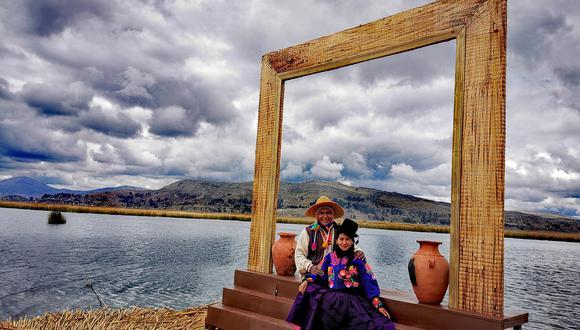 Julio Suaña, junto a su pareja Jhuliana, lideran Titicaca Lodge Perú.