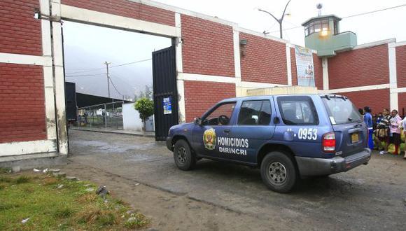 Tras las rejas. Policía detecta a mafia en penal de Lurigancho. (USI)