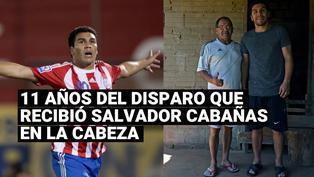 Salvador Cabañas: Hace 11 años recibió un balazo en la cabeza un hecho que marco su vida