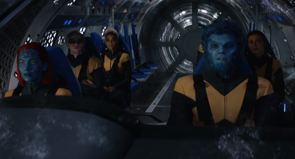 Los X-Men en su última pelea contra Drak Phoenix. (Capturas del YouTube)