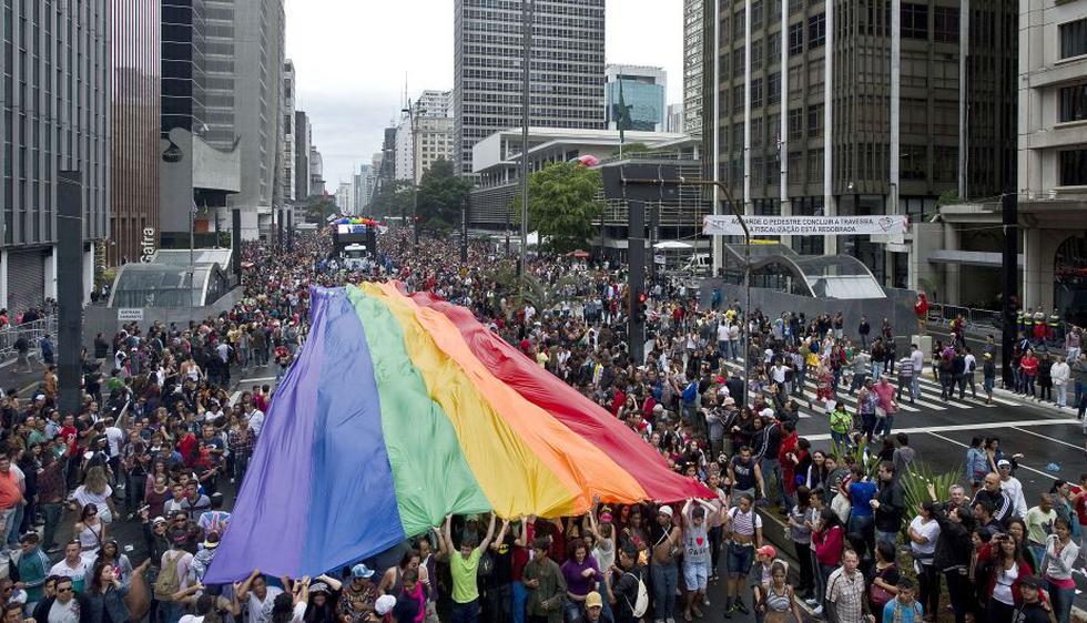 El gran tema de la edición de este año es celebrar los avances alcanzados por la comunidad gay brasileña. (AFP)