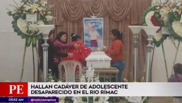 El menor estaba desaparecido desde hace una semana. (Foto: Captura/América Noticias)