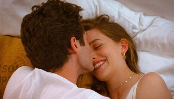 """""""You"""" está protagonizada por los actores Penn Badgley y Victoria Pedretti, quienes interpretan a Joe Goldberg y Love Quinn (Foto: IMDB)"""