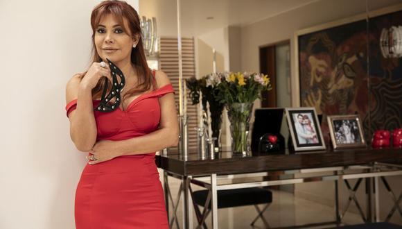 Magaly Medina celebró en Madrid junto a su familia. (Foto: GEC)