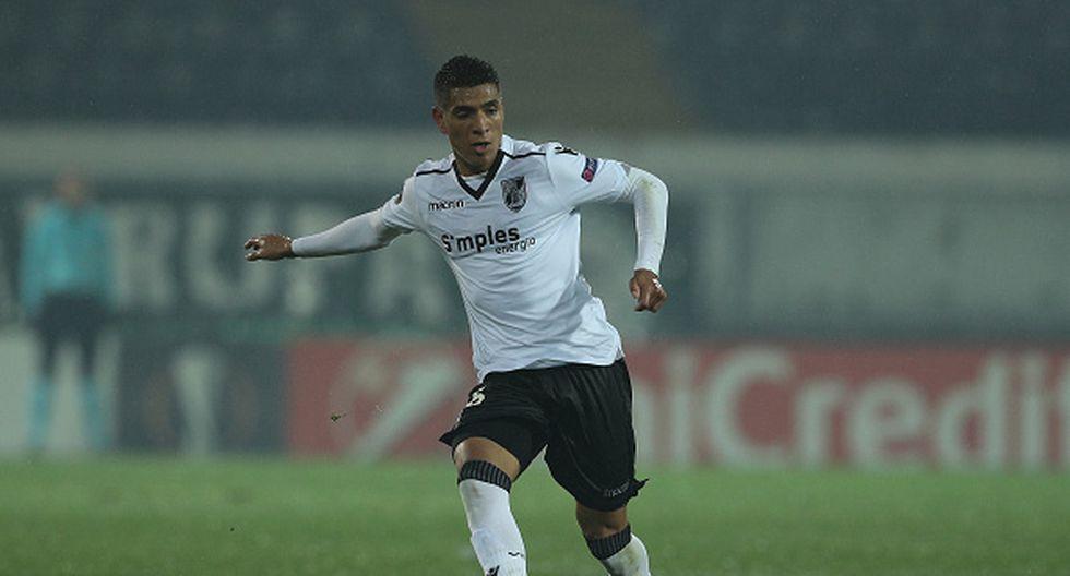 Paolo Hurtado juegan en el Vitoria de Guimaraes de Portugal. (GETTY)
