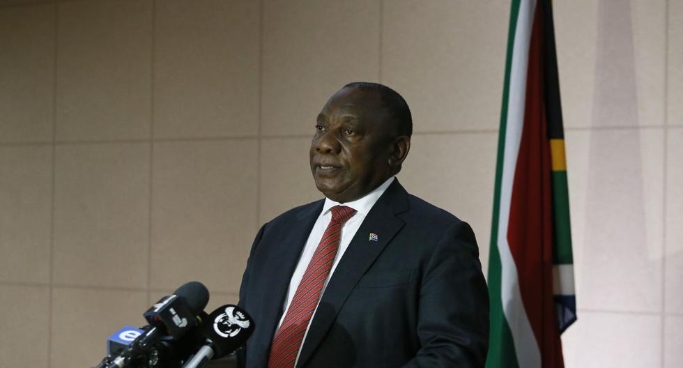 """El confinamiento """"es absolutamente necesario para salvar a miles, o incluso a decenas de miles de personas"""", recordó el presidente Cyril Ramaphosa. (Foto: AFP/Phill Magakoe)"""