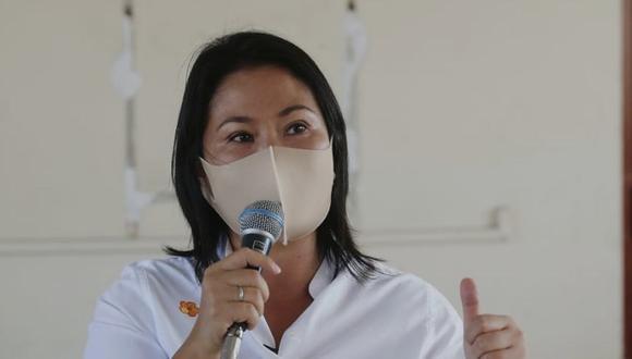 Keiko Fujimori aseguró que defenderá la democracia. (Foto: GEC)