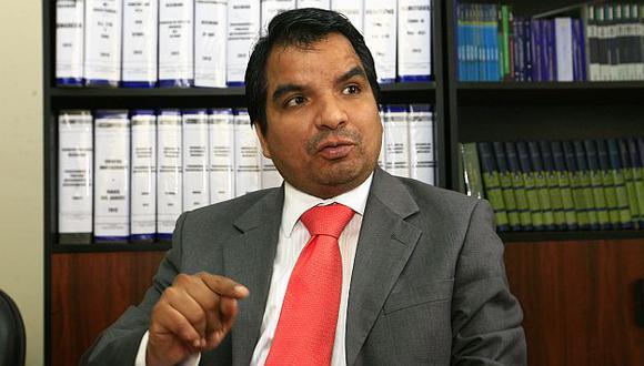 Julio Arbizu saluda iniciativa. (USI)