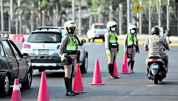 Institucionalidad. Las reformas en la Policía Nacional no solo demandarán mayores recursos, sino también voluntad política. (Foto: GEC)